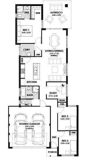 Bristol display home floor plan