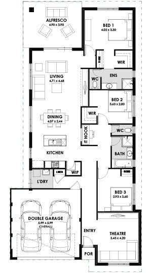 House and land packages Perth WA, Kalarney Floorplan