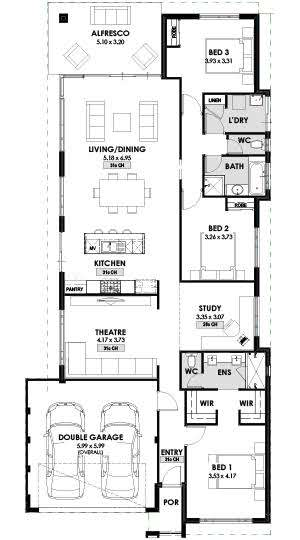 Floorplan Ningaloo