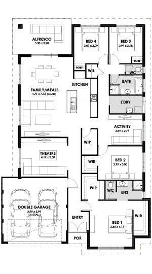 Platinum Floorplan