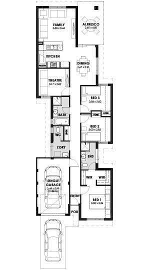 House and land packages Perth WA, Splendour Floorplan
