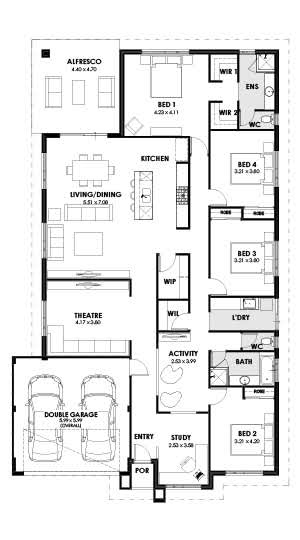 Allure Floorplan