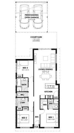 Elation Floorplan