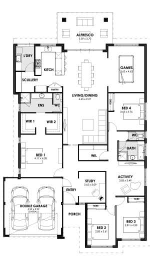 Envy Floorplan