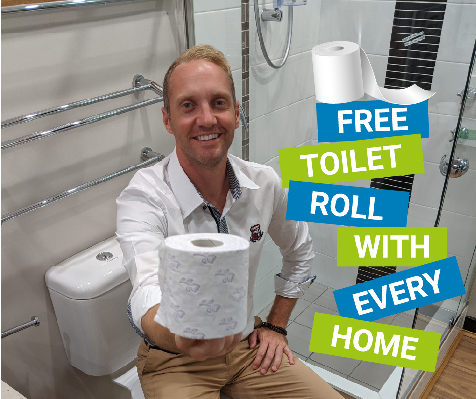 Free Toilet Roll With Every Home
