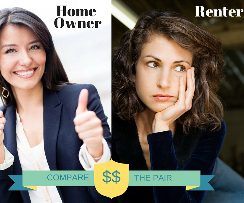 Harriet The Home Owner and Rita The Renter: Compare The Pair