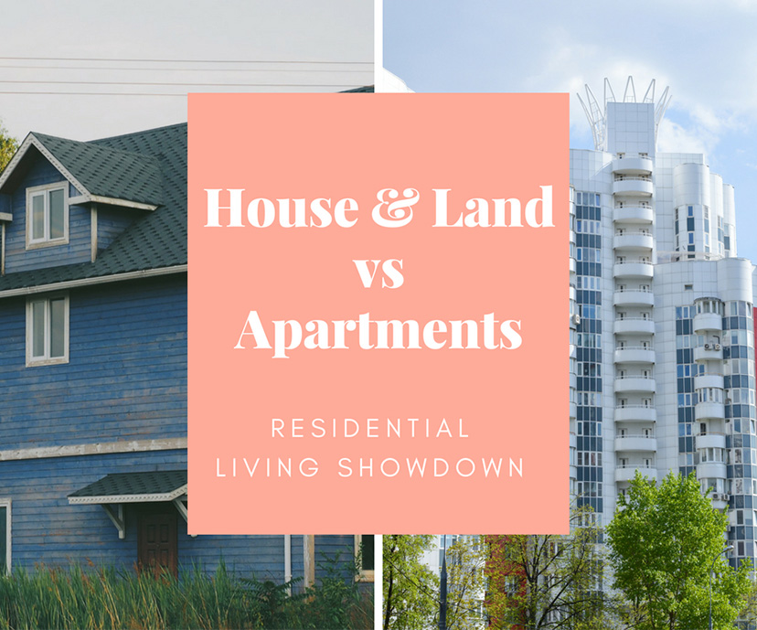 Residential Living Showdown: House & Land Packages vs Apartments